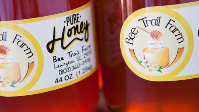 bee trail farm pure honey